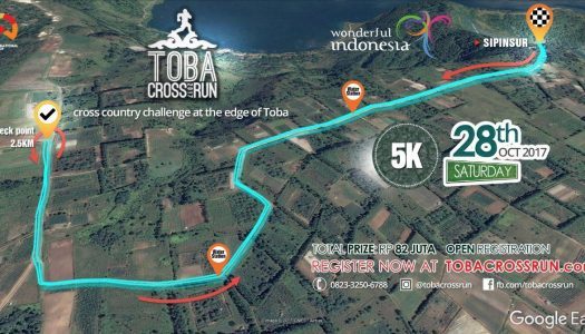 Toba Cross Run 2017 – Berlari di Danau Toba