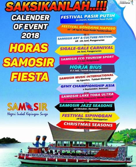 Kalender Event Samosir