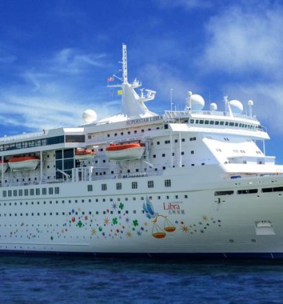 Kapal Pesiar ( Cruise Star) Berlabuh di Kuala Tanjung membawa Potensi Wisata Danau Toba yang baik