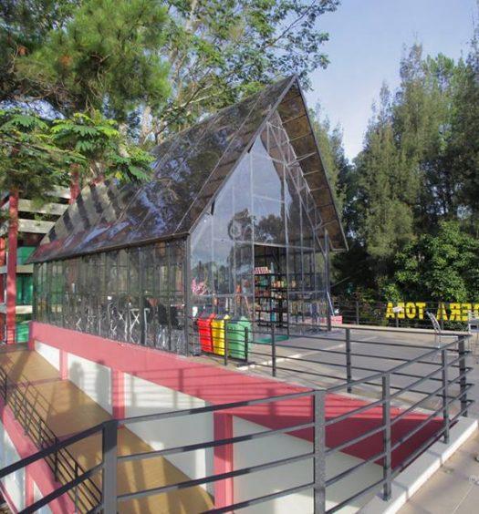 Rest Area Tele Samosir
