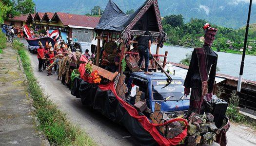 Sigale-gale Carnival Drama Kolosal Batak Hanya di Samosir