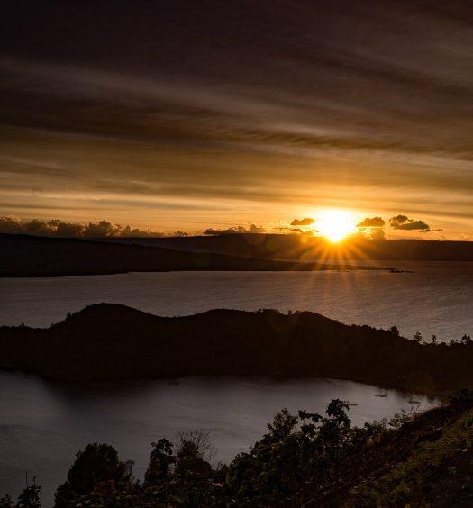 Sunset Dari Tanjung Unta