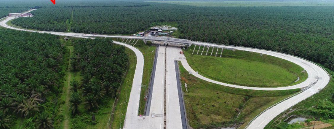 Jalur Tol Medan danau Toba