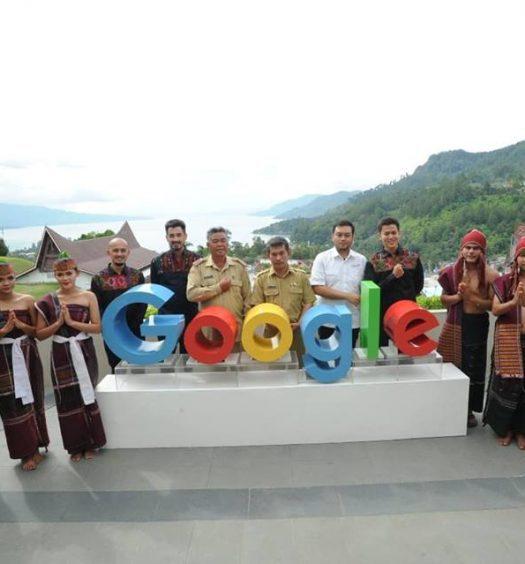 Google view Danau Toba