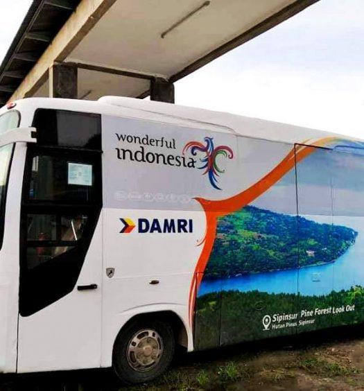 Jadwal Bus Damri Silangit Danau Toba