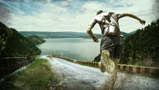 Berlari Disepanjang Kaldera Danau Toba 2019